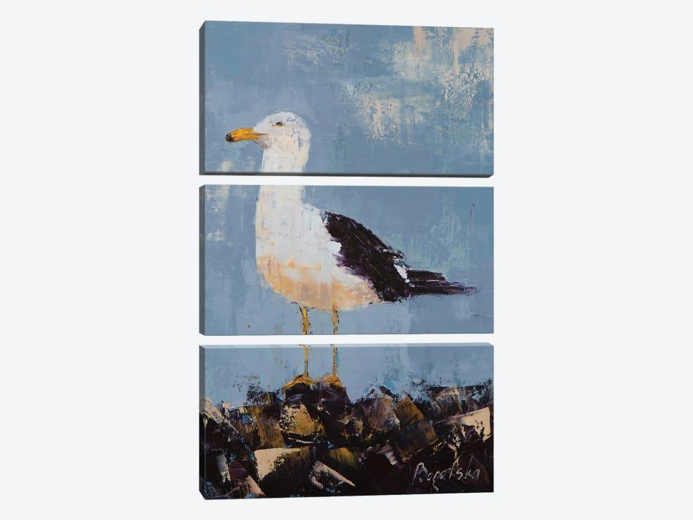Seagull II by Olena Bogatska 3-piece Art Print