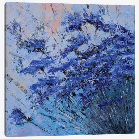 Azure II Canvas Print #OBO6} by Olena Bogatska Canvas Art Print