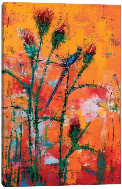 Thistle Canvas Art Print
