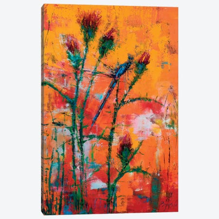 Thistle Canvas Print #OBO73} by Olena Bogatska Art Print