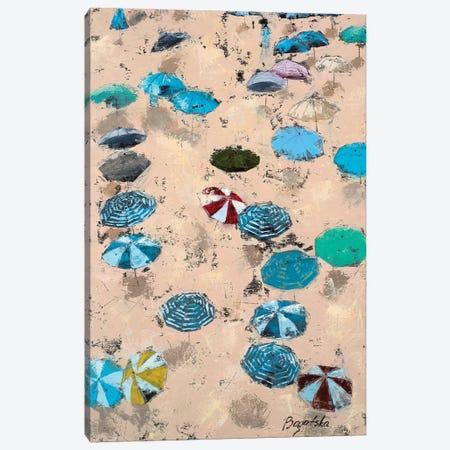 Umbrellas Canvas Print #OBO74} by Olena Bogatska Canvas Wall Art