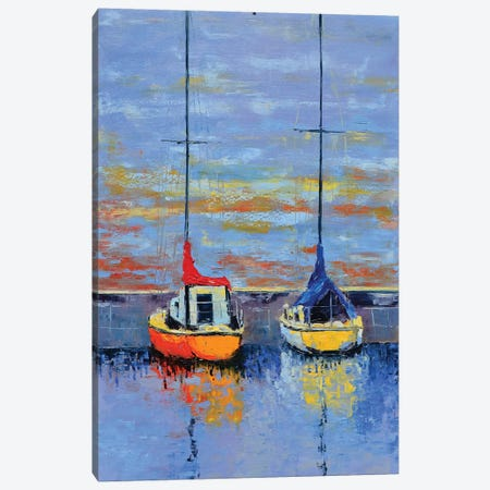 Waiting For The Wind Canvas Print #OBO76} by Olena Bogatska Canvas Wall Art