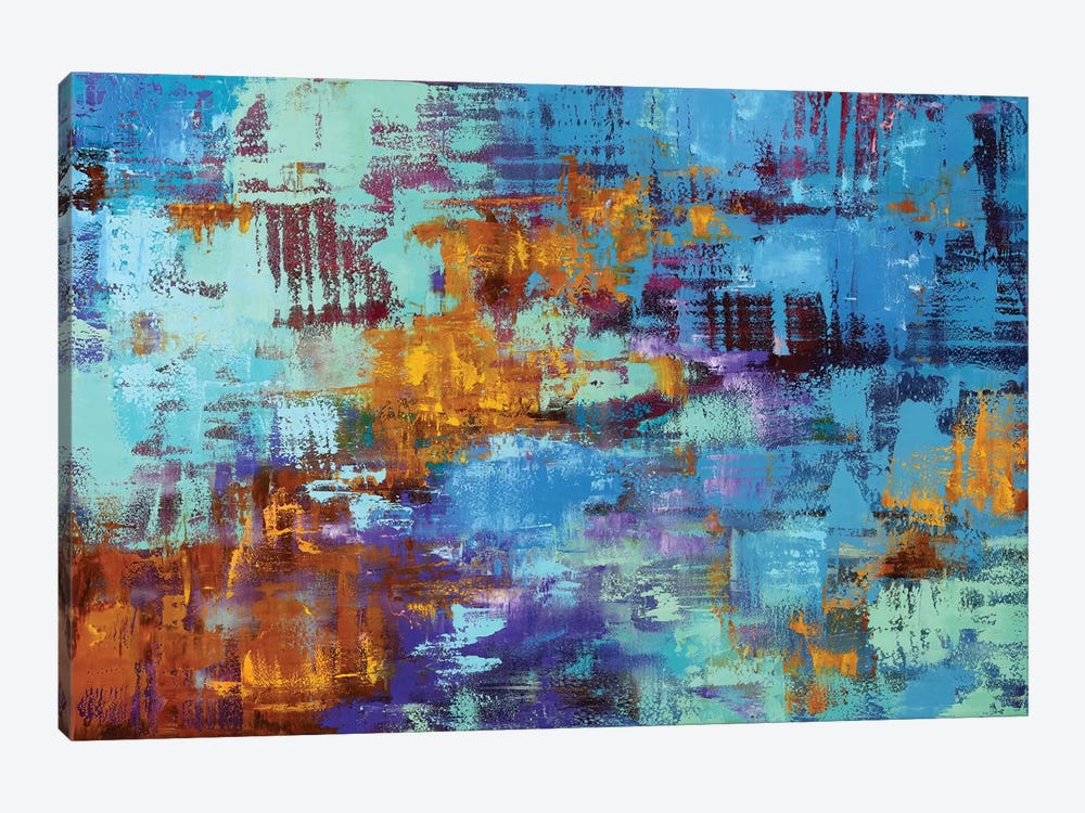Abstract I 1-piece Canvas Art