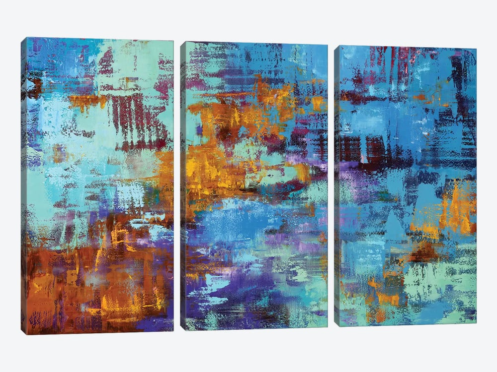Abstract I by Olena Bogatska 3-piece Canvas Artwork