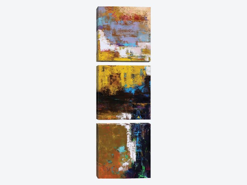Abstract IV by Olena Bogatska 3-piece Canvas Art