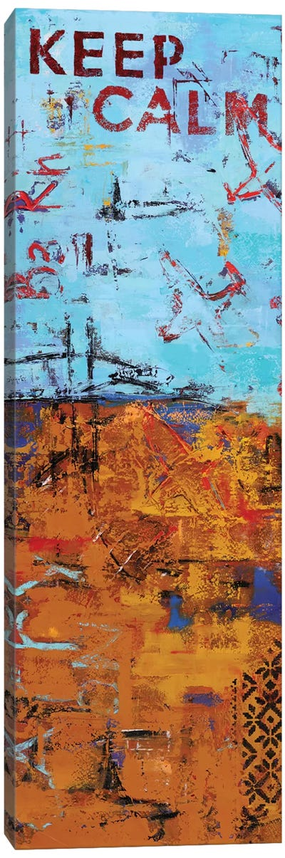 Abstract V Canvas Art Print