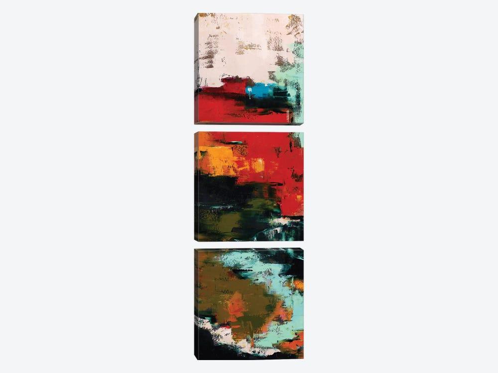 Abstract VI by Olena Bogatska 3-piece Canvas Art
