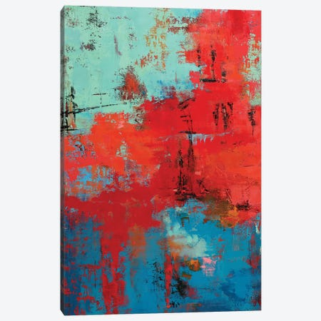 Abstract IX Canvas Print #OBO87} by Olena Bogatska Art Print