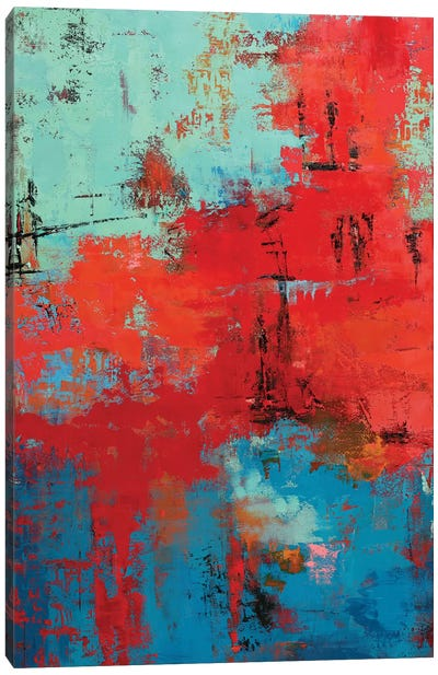 Abstract IX Canvas Art Print