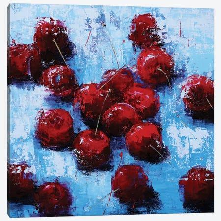 Cherry V Canvas Print #OBO90} by Olena Bogatska Canvas Art Print