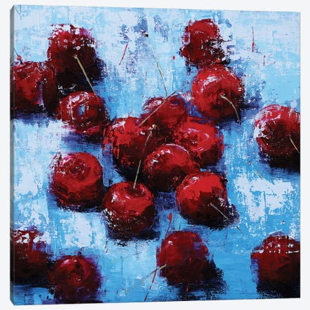 Cherry V Canvas Print #OBO90} by Olena Bogatska Canvas Art Print