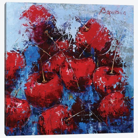 Cherry VI Canvas Print #OBO91} by Olena Bogatska Canvas Art Print