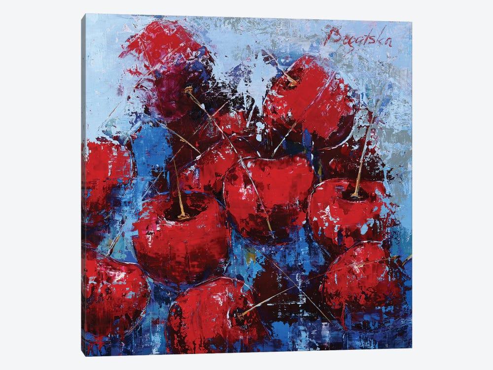 Cherry VI by Olena Bogatska 1-piece Canvas Art