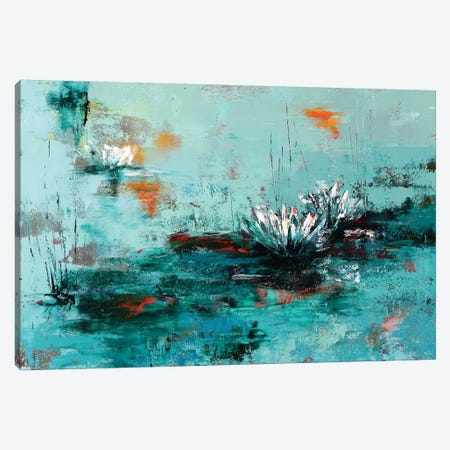 Lily Canvas Print #OBO92} by Olena Bogatska Canvas Art Print