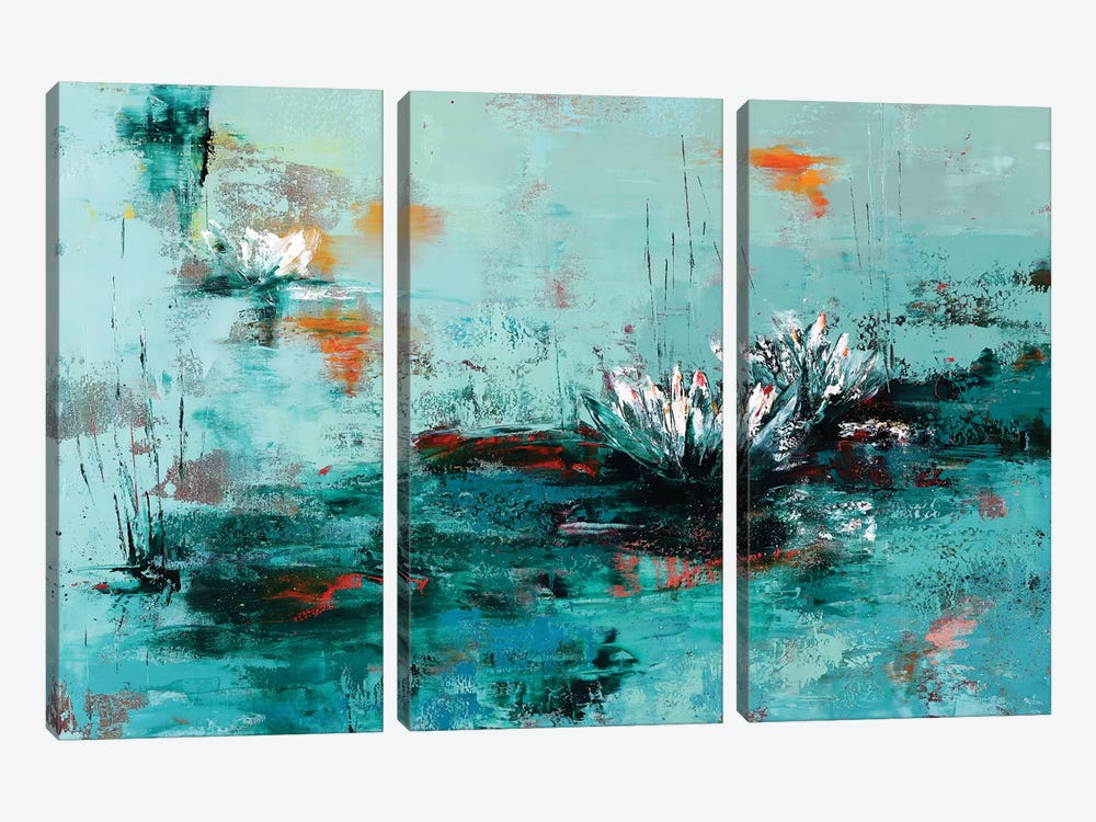 Lily by Olena Bogatska 3-piece Canvas Print