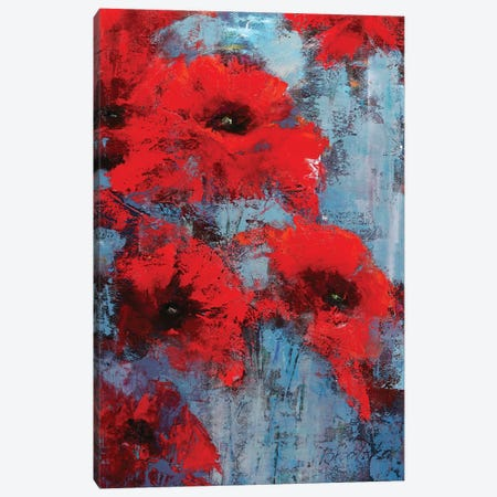 Poppyseed 3-Piece Canvas #OBO93} by Olena Bogatska Canvas Art Print
