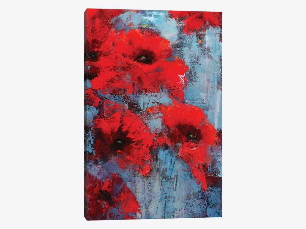 Poppyseed by Olena Bogatska 1-piece Canvas Artwork