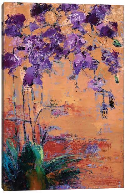 Purple Orchid Canvas Art Print