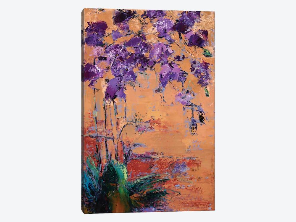 Purple Orchid by Olena Bogatska 1-piece Canvas Art Print