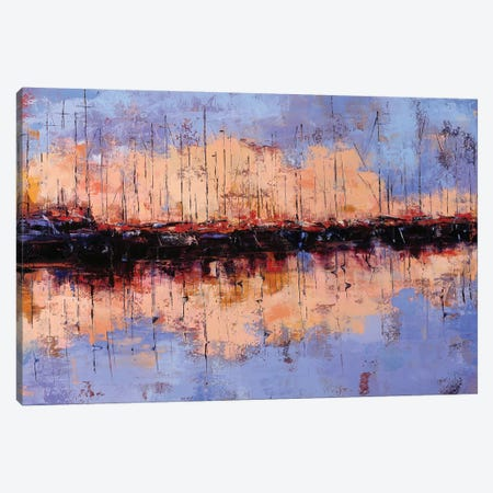 Sunset Canvas Print #OBO97} by Olena Bogatska Canvas Artwork
