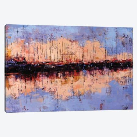 Sunset Canvas Print #OBO97} by Olena Bogatska Canvas Artwork