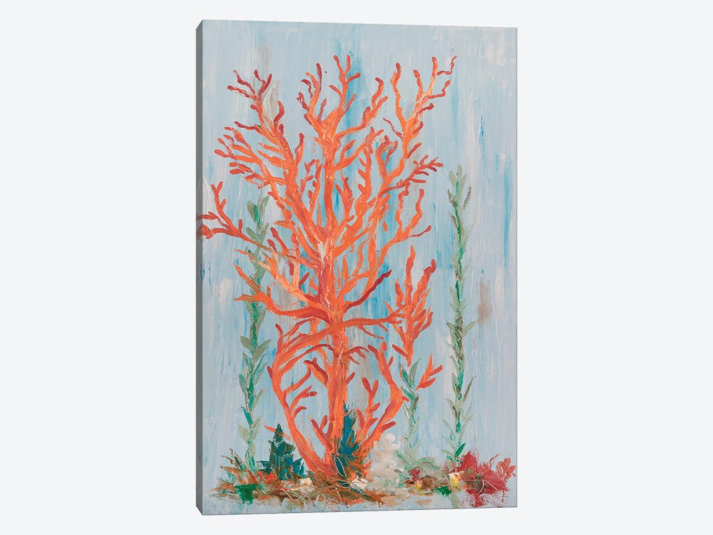 Painterly Coral II by Olivia Brewington 1-piece Art Print