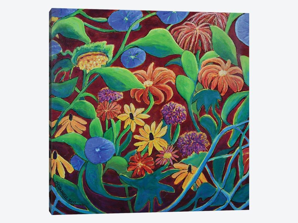 Circular Moving Garden by James O'Connell 1-piece Canvas Artwork