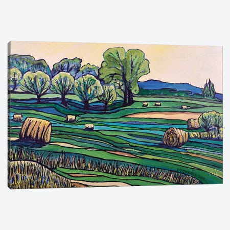 Hayfields Lindstrom Minnesota 3-Piece Canvas #OCN29} by James O'Connell Canvas Wall Art