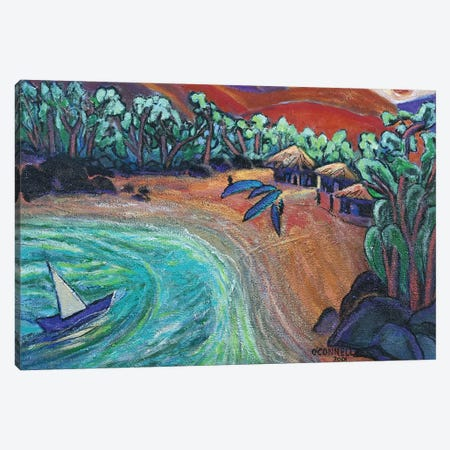 Mexican Riveria Canvas Print #OCN41} by James O'Connell Canvas Wall Art
