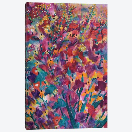 Profuse Mid Summer Canvas Print #OCN59} by James O'Connell Canvas Print