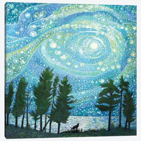 Eternity Canvas Print #OCN79} by James O'Connell Art Print