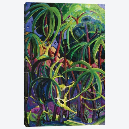 Tropical Moonlight II Canvas Print #OCN83} by James O'Connell Canvas Artwork
