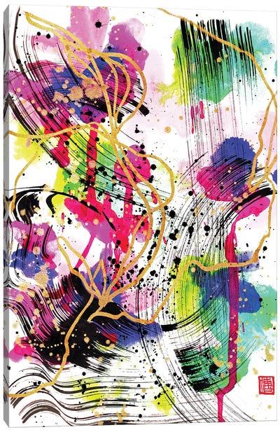 Smile On A Rainy Day (Mozart's Violin Concerto) Canvas Art Print