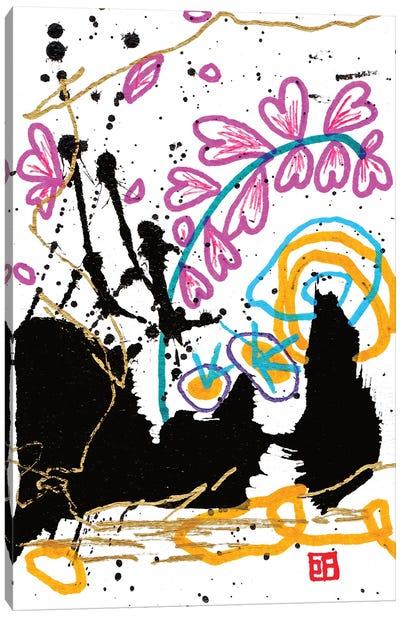 Sound Of The Universe Canvas Art Print