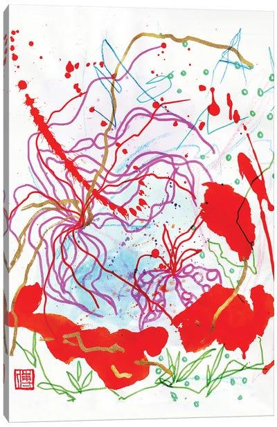 Mozart: Floating Butterfly Canvas Art Print