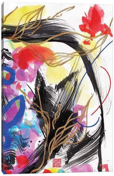 Beethoven: Orange Flame Canvas Art Print