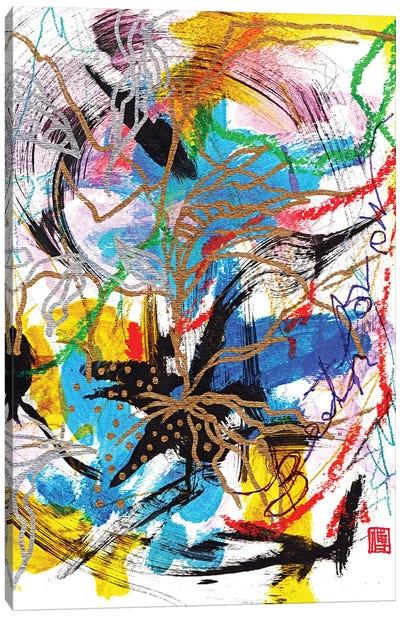 Beethoven: Blue Fate Canvas Art Print