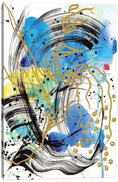 Blue Night Canvas Art Print