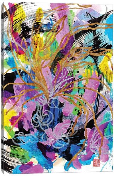 Purple Love Canvas Art Print