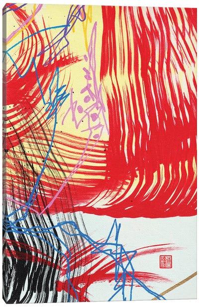 Red I (Beethoven's Für Elise) Canvas Art Print