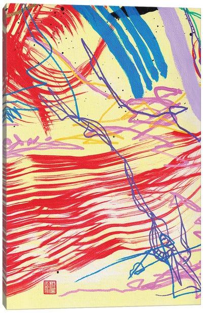 Red II (Beethoven's Für Elise) Canvas Art Print