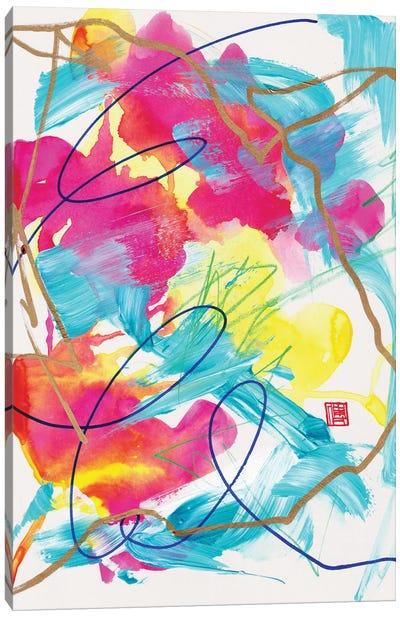 I Hide My Power Underneath Flowers (Bach Partita) Canvas Art Print