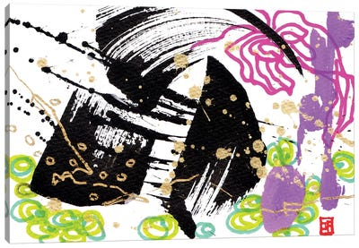 Butterfly And Cello Canvas Art Print