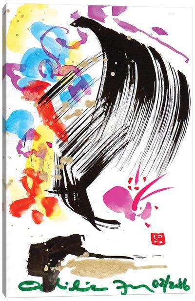 Butterfly Blush Canvas Art Print