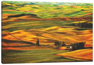 Palouse XXII Canvas Art Print