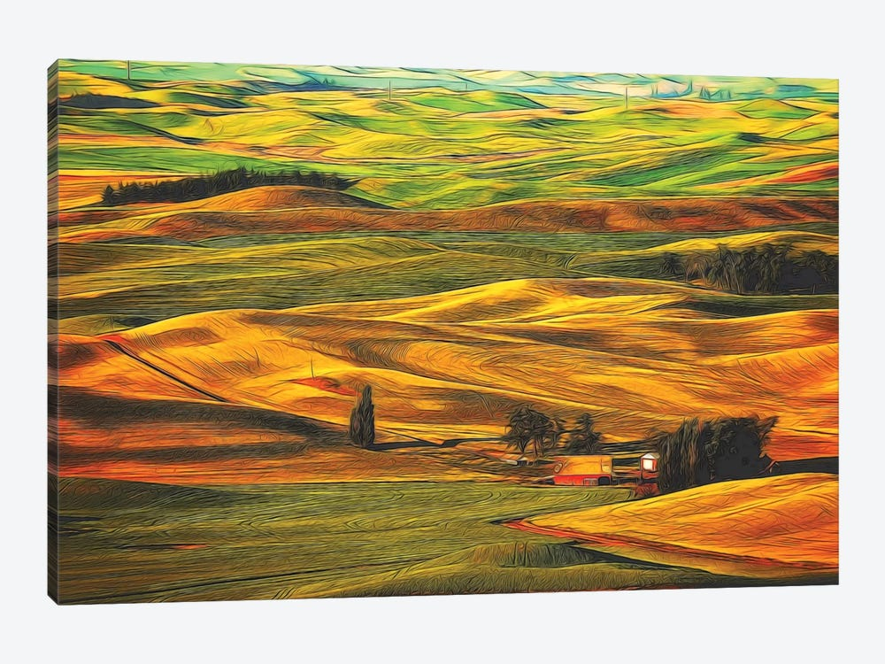 Palouse XXII by Dale O'Dell 1-piece Art Print
