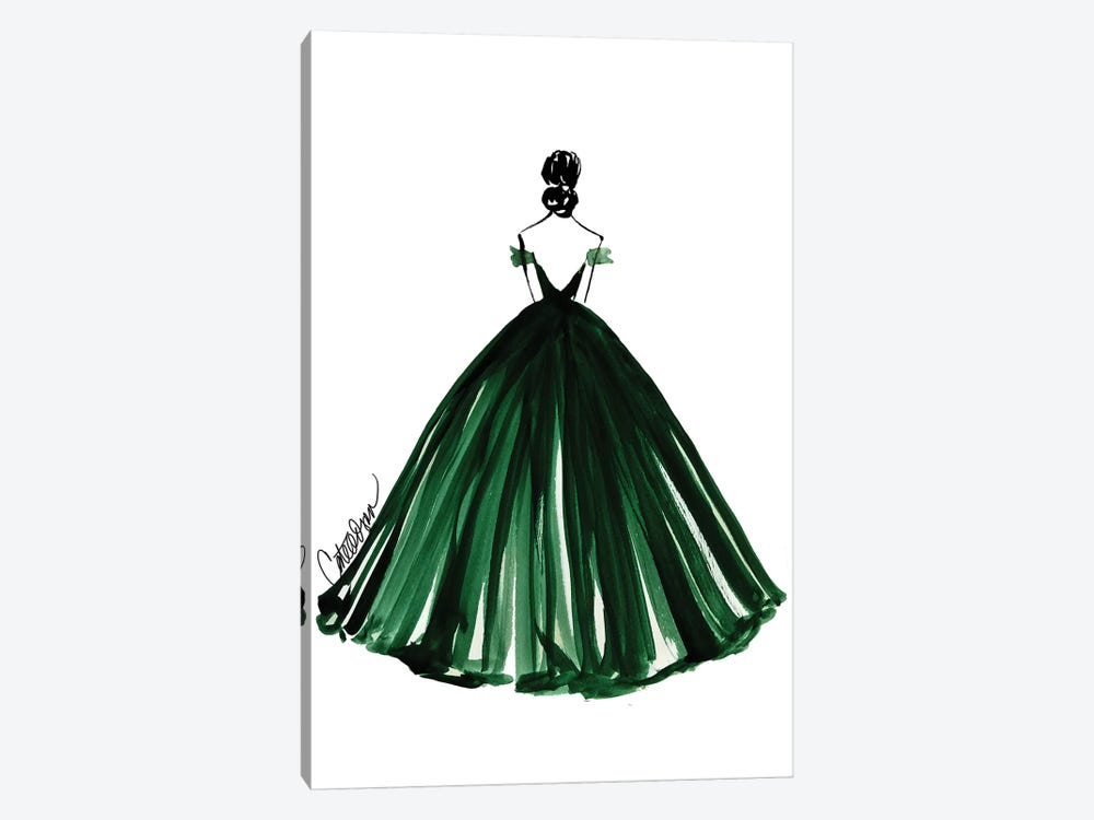 Grand Entrance by Cate Odson 1-piece Canvas Art Print