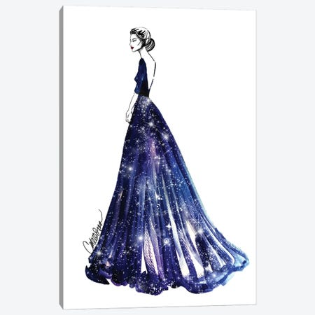 Queen Of The Universe Canvas Print #ODS18} by Cate Odson Canvas Art Print