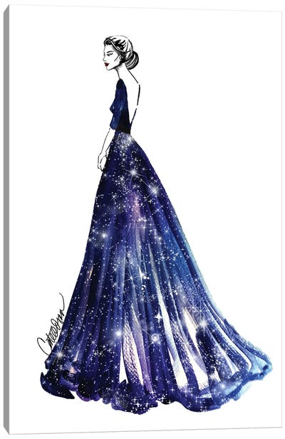 Queen Of The Universe Canvas Print #ODS18