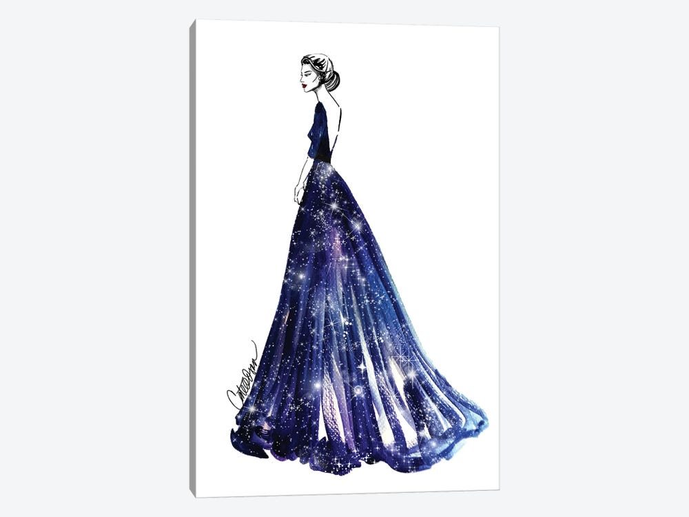 Queen Of The Universe by Cate Odson 1-piece Canvas Artwork